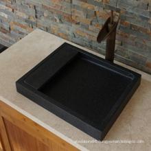 Indian black granite sink