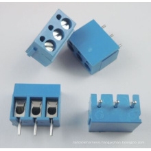 5mm Pitch 3 Pin 3 Way PCB Screw Terminal Block Connector