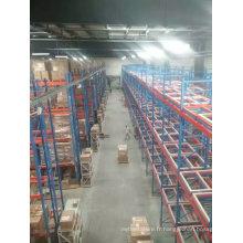 Porte-palettes à service lourd dans l'entrepôt