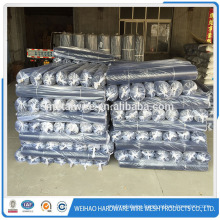 HDPE Plastic flat wire mesh for spring mattress