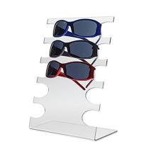 Customized Clear Acrylic Eyeglasses Display Stand Rack Sunglasses Eyewear Holder