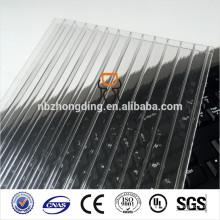 10mm Doppelwand-Hohl-Polycarbonat-Dachblech