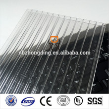 10mm twin wall hollow polycarbonate roofing sheet