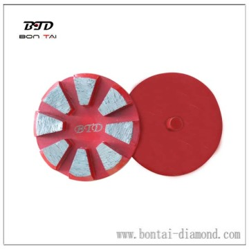 one pin concrete diamond grinding block