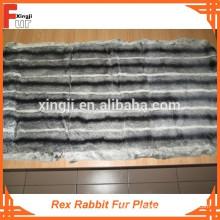 Placa de piel de conejo Rex de calidad superior