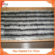 Qualidade Superior Rex Rabbit Fur Plate
