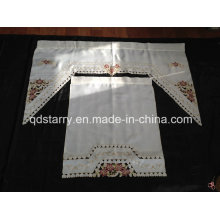Embroidery Kitchen Curtain Xlt69
