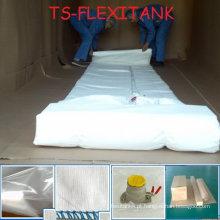 Flexitank para armazenamento ou transporte de glicerina