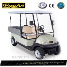 Nouveau chariot de golf prix pas cher chariot de golf avec lit de la cargaison