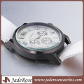 Simple Alloy Watch Women′s Watch with Leather Band