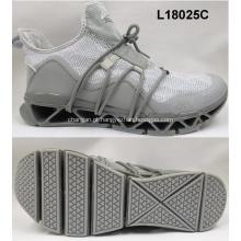 Tecido de alta qualidade executando homens sapatos de desporto