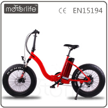 MOTORLIFE cheap electric bicycle high quality adult ebike folding electric mountain bike