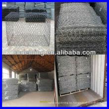 Malla de alambre gabion (fábrica grande y exportador)