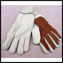 Invierno nuevo doble capa de tejido de cuero caliente 3m Thinsulate guantes de conducción