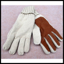 Winter New Double Layer Knitting Warm Leather 3m Thinsulate Driving Gloves