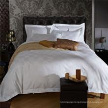 China fornecimento Satin Check cama conjuntos para hotel (WS-2016306)