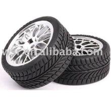 pneus de borracha personalizado RC 1/8' e 1/10'