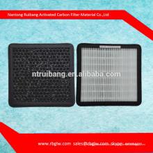fabricación de aire purificar filtro de aire de carbón activo medio
