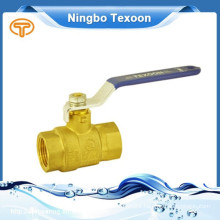 fully forged brass female npt brass ball valves with low lead(female thread)