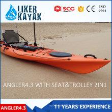 Vente en polyéthylène / plastique PRO Fishing Kayak