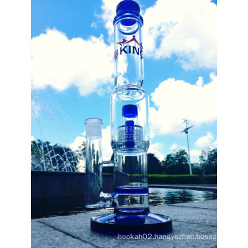 2016 Wholesale Honeycomb Birdcage Glass Smoking Water Pipe