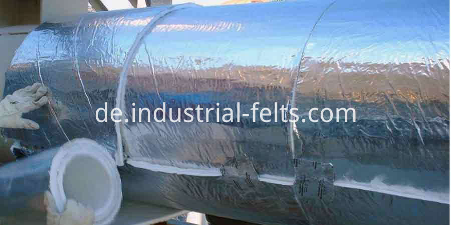 Aluminium Foil Aerogel Industrial Hot Thermal Insulation