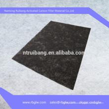 tissu de fibre de carbone activé