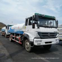 Camión del agua de HOWO de 5000L-15000L Sinotruk / camión del tanque de agua de HOWO / camión de regadera del agua de HOWO / carro del agua de HOWO / carro del agua de HOWO