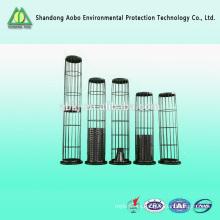 Planta de energía recubierto de bolsa de filtro de silicona epoxi jaula