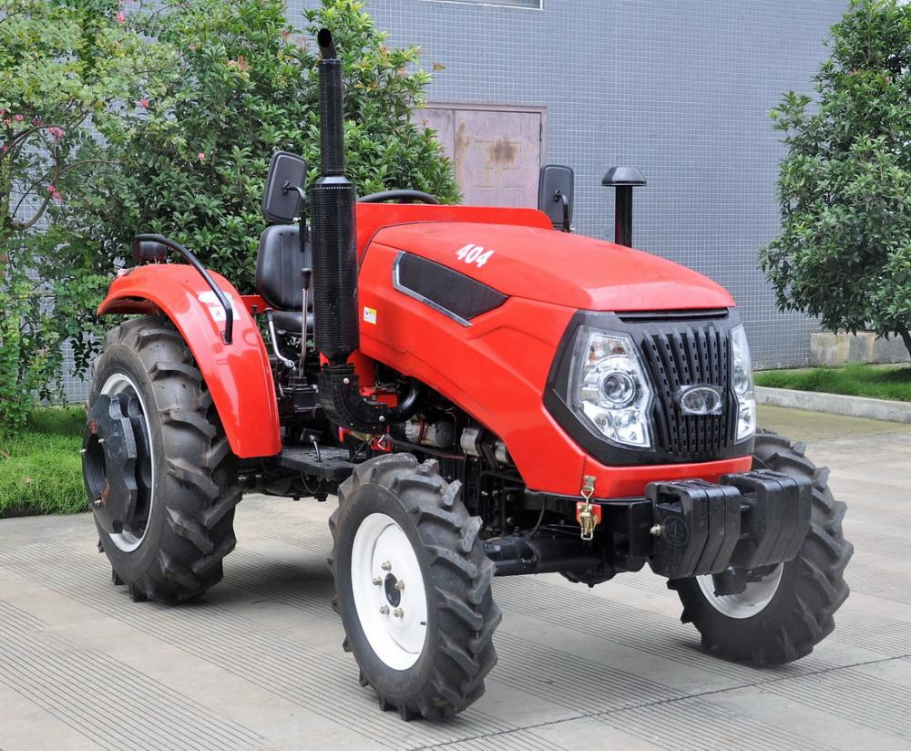 4 Wheel Drive 35HP Mini Farm Wheeled Tractor