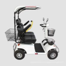 Elder e desabilitar assentos duplos Adult Scooters elétricos