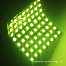 addressable multicolor rgb dot led matrix apa102 p10 panel