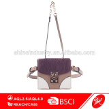 Multi Function PU Patchwork Women Shoulder Bag