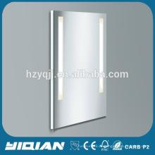 Heißer Verkaufs-Toiletten-Spiegel-Kabinett-Rückseite mit PVC-Rahmen-neuer Wand-Einfassungs-Badezimmer-Spiegel-Kabinett mit Licht