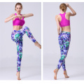 Dry fit seta leggings donne yoga palestra fitness leggings in Lycra