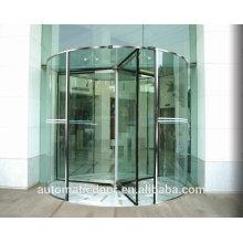 Portas de vidro rotativas automáticas comerciais DPER