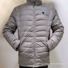 Battery Heated Puffer Jacket for Men 5v by Power Bank