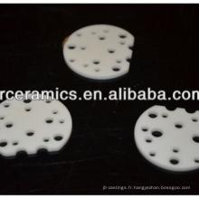 Dissipateur de chaleur en céramique d'alumine (éclairage LED utilisé)