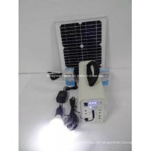 Sistema solar de energía solar para el hogar