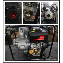 """4 """"Diesel Wasserpumpe mit Gusseisen Entladungskappen"""