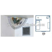 Espelho convexo do policarbonato da abóbada de um quarto