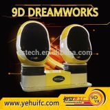 9D commercial equipment with Shooting ski games 9d cinema simulator for sale