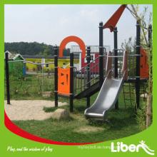 China Spielplatz Hersteller verwendet Kinder Outdoor Spielplatz Ausrüstung