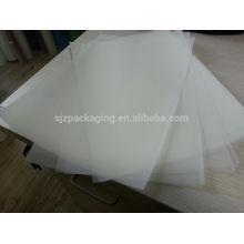 100micron PET Material Weiß / Milch Weiß / Transparent Mylar Film