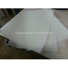 100micron PET Material White /Milk White / Transparent Mylar Film