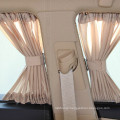 Length 50cm High 47cm 2pcs/set Elastic Car Side Window Sunshade Curtains Auto Windows Curtain Sun Visor Blinds Cover carstyling