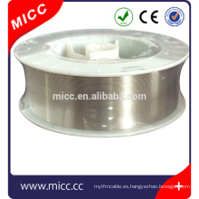 Redondo o tira FeCrAl Cable de calentamiento de resistencia eléctrica