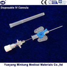 Blister verpackt Medizinische Einweg IV Kanüle / IV Katheter Schmetterling Typ 22g