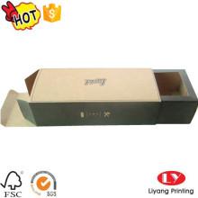 Caja de embalaje de las gafas de sol del cajón del papel de Kraft