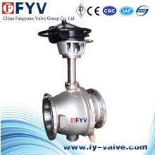 Válvula de bola flotante de acero inoxidable de baja temperatura